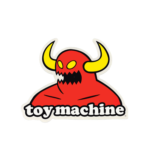 Toy Machine Monster Logo Sticker - M - Prime Delux Store