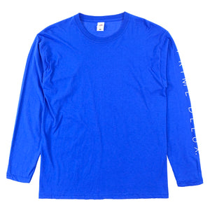 Load image into Gallery viewer, Prime Delux Unity Long Sleeve T Shirt - Royal Blue / White - Prime Delux Store