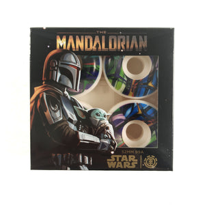 Element X Star Wars Mandalorian - Mando Card Wheels 99a White / Multi 52mm - Prime Delux Store