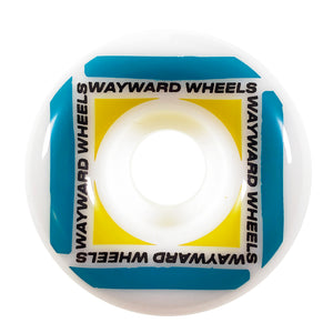 Load image into Gallery viewer, Wayward Wheels - 53mm - Waypoint Wheel - White / Green - Prime Delux Store