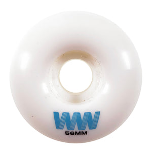 Load image into Gallery viewer, Wayward Wheels - 56mm - Waypoint Wheel - White / Blue - Prime Delux Store