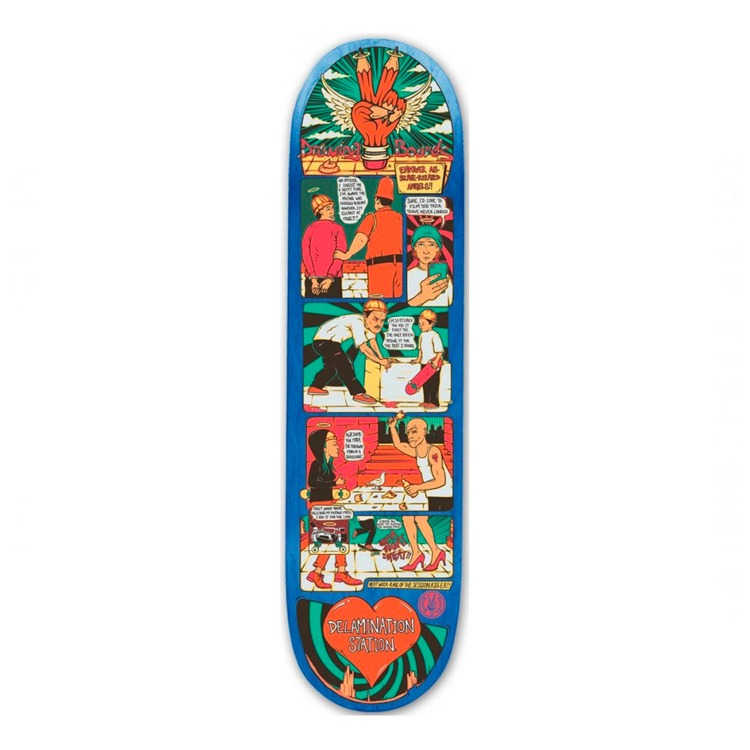 The Drawing Boards Deck - Empower your Skate-Related Angels - 8.8