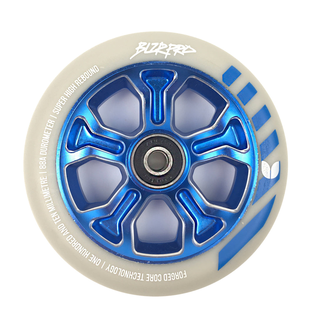Blazer Pro Scooter Wheel Rebellion Forged 110mm Grey / Blue - Prime Delux Store