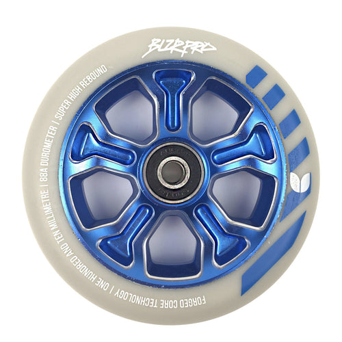 Blazer Pro Rebellion Forged Scooter Wheel 110 mm - Grey / Blue - Prime Delux Store