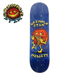 "Anti Hero Grimple - 8.62"" - Hewitt Family Band Deck 8.62"" - Prime Delux Store"