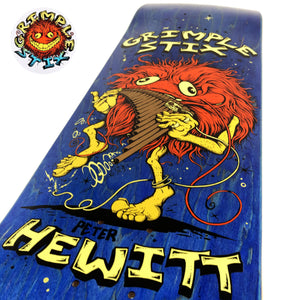 "Load image into Gallery viewer, Anti Hero Grimple - 8.62"" - Hewitt Family Band Deck 8.62"" - Prime Delux Store"