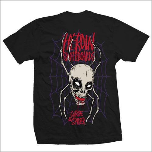 Heroin Curse of the Spider Tee - Prime Delux Store
