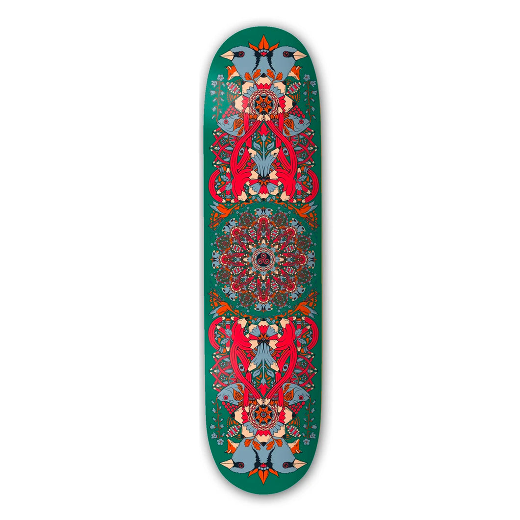 The Drawing Boards Green Mandala Deck- 8.1