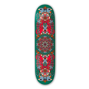 "The Drawing Boards - 8.25"" - Green Mandala Deck - Prime Delux Store"