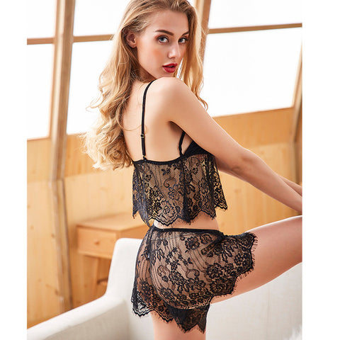 Black lace nightwear lingerie secrets affair