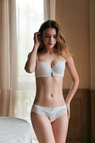 white rose flower sexy sensual bra lingerie lacy laces strap hook secretsaffair