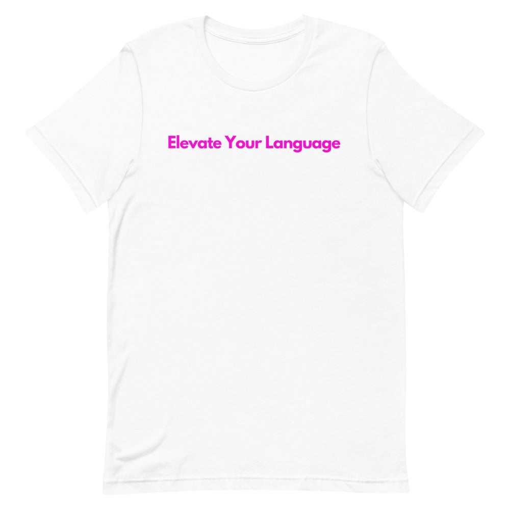 Elevate your Language - Inspired by Lizzy Jeff