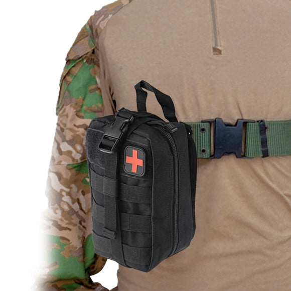 Survival First Aid Kit Bag Tactical Medical