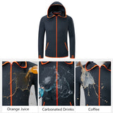 Unisex Hydrophobic Anti-Fouling Fishing Clothing Coat