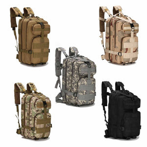 Tactical Camouflage Waterproof Nylon Saddle Bag