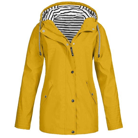 Women Hooded Rain Jackets