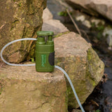 Water purifier for camping and backpacking