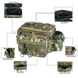Fishing Bag Multifunctional  Tackle Storage Box Waist Shoulder Camera Handbag