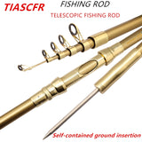 TIASCFR Telescopic Super hard   Fishing Rod 1.8M -3.6M