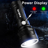Super Powerful LED Flashlight  Tactical Torch USB Rechargeable