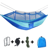 Outdoor Camping Hammocks with Mosquito Netting