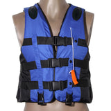 Adult & Kids Universal Life Jacket S-XXXL with Whistle