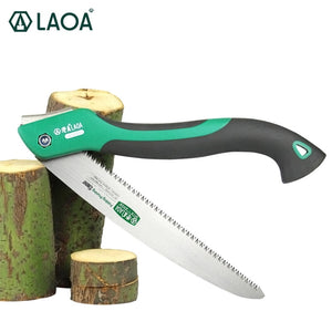 LAOA 10 inch 7T/9T/12T Wood Folding Saw Outdoor For Camping SK5 Grafting Pruner for Trees Chopper Garden Tools Unility Knife