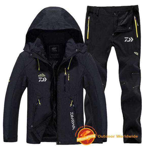 Daiwa Outdoor Coats Quick-drying Pants Men's Fishing jacket