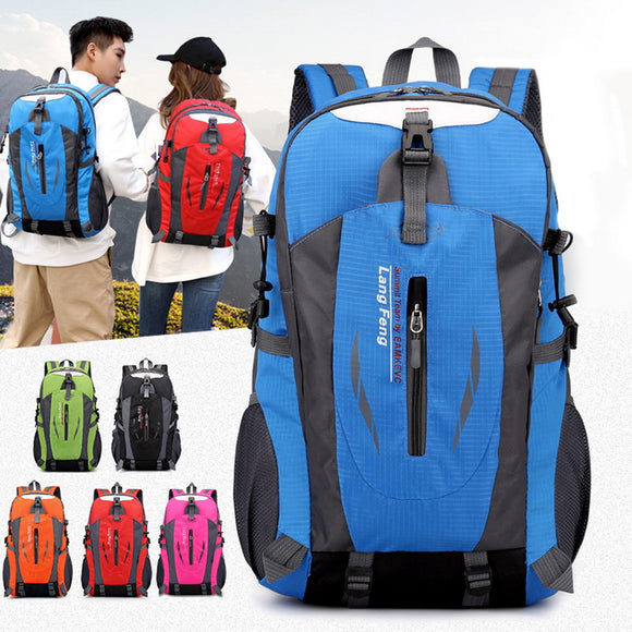 Mountaineering Backpack Waterproof Shoulder Bags