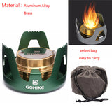1PCS Portable Outdoor Spirit Alcohol Stove