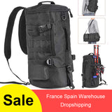 42 Gal.  Folding Large Capacity Fishing Tackle Backpack