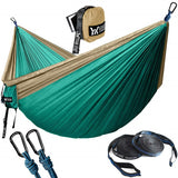 Parachute Nylon Hammock with tree straps