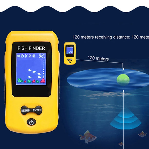 Portable  Fish Finders  Electric Locator