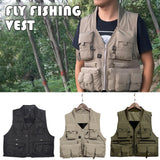 Quick Dry Fishing Vest Breathable and lightweight