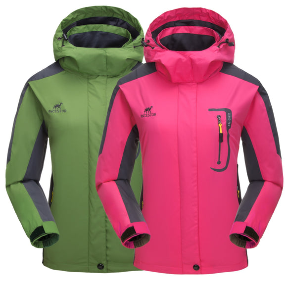 Women Outdoor Camping Hiking Climbing Jacket Coat Top Outwear Windbreaker Sports Apparel Tracksuit Sweater Athletic Blazers 8898