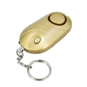 140db Emergency Self Defense Security Alarm Keychain Light