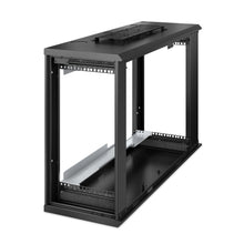 Load image into Gallery viewer, APC AR106V NetShelter WX 6U Low-Profile Wall Mount Enclosure 120V Fans New