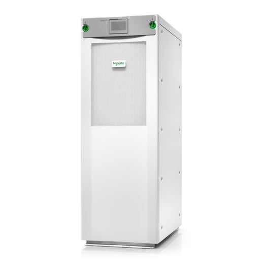 Schneider Electric Galaxy VS UPS 25kW 208V for up to 4 internal 9Ah smart modular battery strings, Start-up 5x8, GVSUPS25K0B4FS