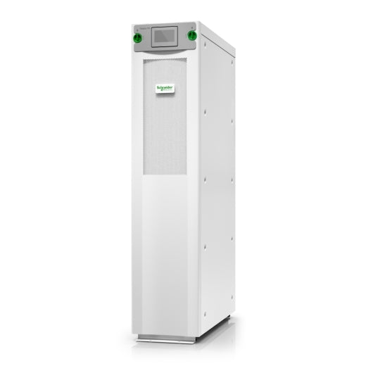 Schneider Electric Galaxy VS UPS 20kW 480V, 1 internal 7Ah smart modular battery string, expandable to 2, Start-up 5x8, GVSUPS20KB2GS