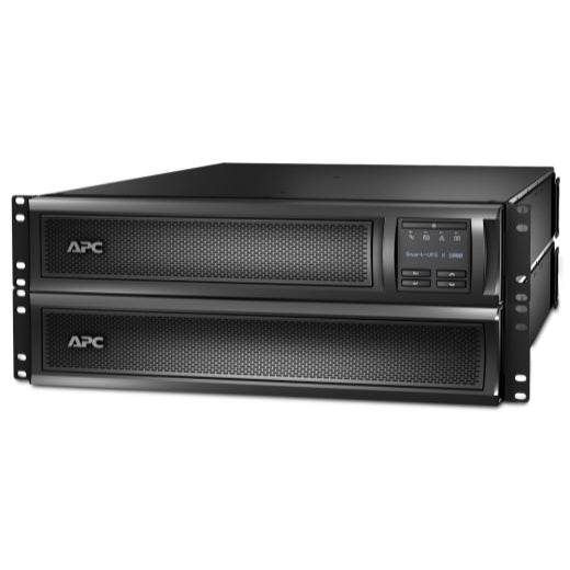 APC SMX2KR2UNCX145 SMART-UPS X 2000VA RACK/TOWER LCD 100-127V WITH NETWORK CARD & 10FT INPUT CORD & NEMA L5-20P