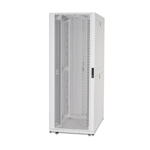 APC AR3140W NetShelter SX 42U 750mm Wide x 1070mm Deep Networking Enclosure with Sides White
