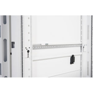 APC AR3307W NetShelter SX 48U 600mm Wide x 1200mm Deep Enclosure with Sides White