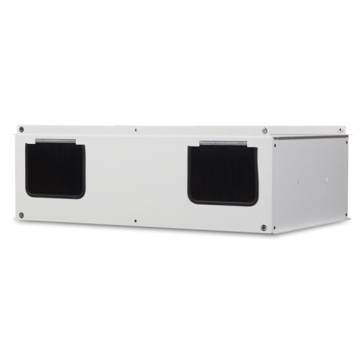 Overhead Cable Extension 600mm Wide / Vertical Exhaust Duct Kit for SX Enclosure White, AR7755W