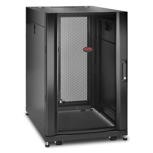 APC AR3006 NetShelter SX 18U Server Rack Enclosure 600mm x 900mm w/ Sides Black