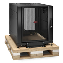 Load image into Gallery viewer, APC AR3003SP NetShelter SX 12U Server Rack Enclosure 600mm x 900mm w/ Sides Black Shock Packaging