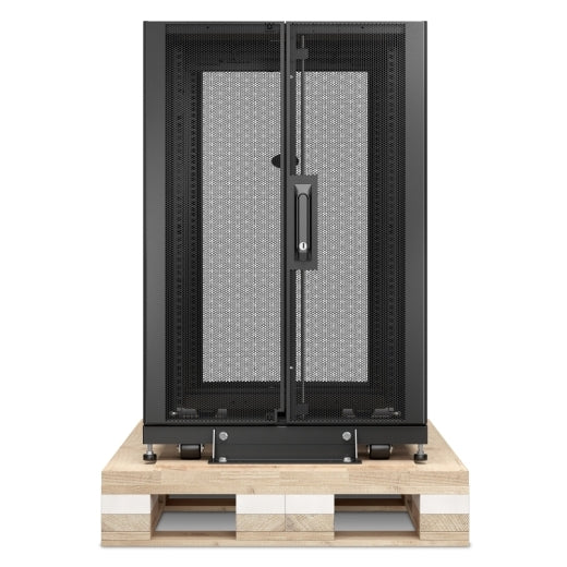 APC AR3106SP NetShelter SX 18U Server Rack Enclosure 600mm x 1070mm w/ Sides Black Shock Packaging