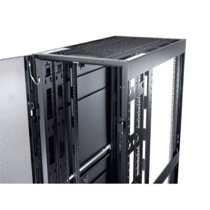 APC AR3307SP NetShelter SX 48U 600mm Wide x 1200mm Deep Enclosure with Sides Black -2000 lbs. Shock Packaging