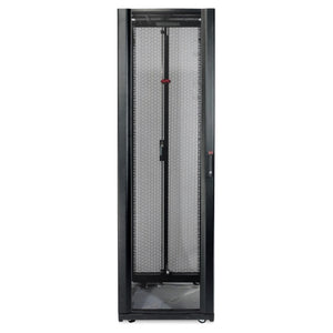 APC AR3107TAA NetShelter SX 48U 600mm Wide x 1070mm Deep Enclosure with Sides Black TAA Compliant