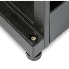 Load image into Gallery viewer, APC AR3105 NetShelter SX 45U 600mm Wide x 1070mm Deep Enclosure with Sides Black