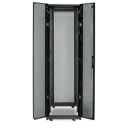 APC AR3100X609 NetShelter SX 42U 600mm Wide x 1070mm Deep Enclosure Without Sides Black